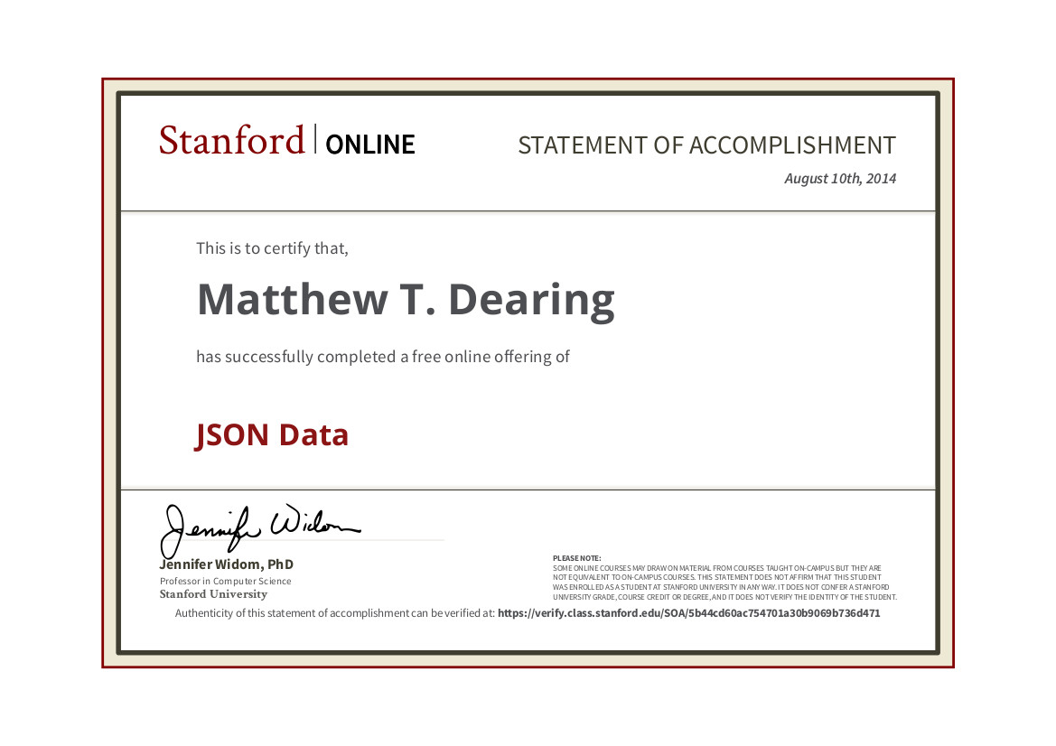 Stanford phd thesis online